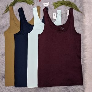 Old Navy tank top set of 4
